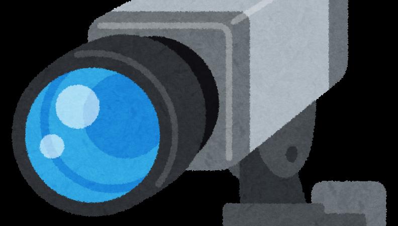 一軒家玄関への防犯カメラ設置作業致しました!