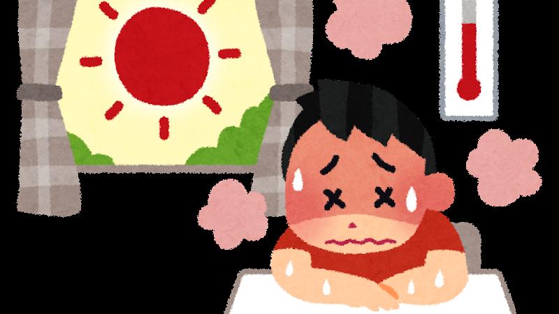 大阪府コロナ感染症へのイエローステージ発令。熱中症対策も忘れずに!
