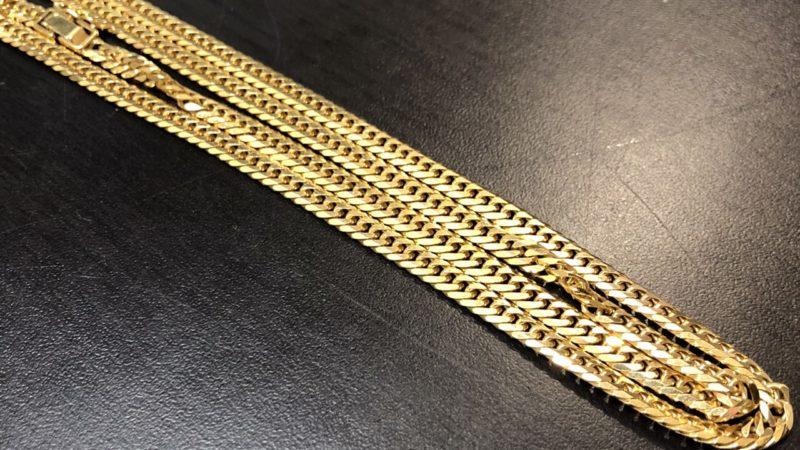 【買取】不用品のK18喜平ネックレスを買取致しました!お困り事は八尾市の便利屋何でもワークスへ!
