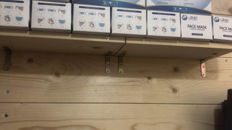 【DIY】木製壁に棚とLEDテープを取付け!②DIYお手伝いなら八尾市の便利屋何でもワークスへ!