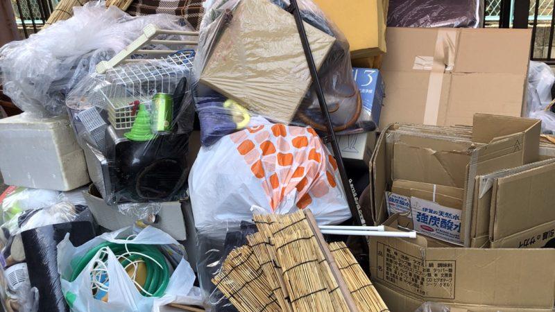 【片付け】ゴミ出しのお手伝い作業を行いました!お困り事なら八尾市の便利屋何でもワークスへ!
