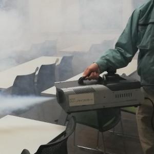 コーティング液剤噴霧開始