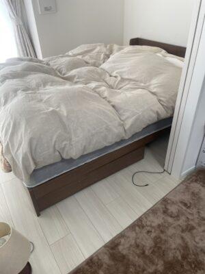 【組立】ダブルサイズベッドの組立を行いました!