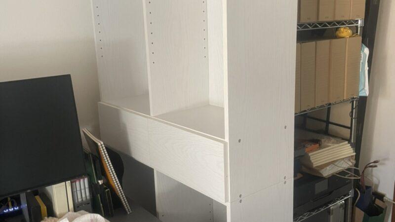 【組立】本棚の組立を行いました!
