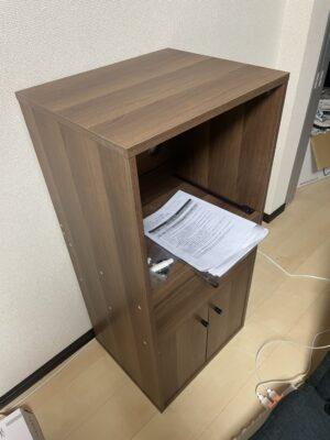 【組立】食器棚の組み立てを行いました!
