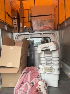 【移動】家財の荷物移動のお手伝いを行いました!